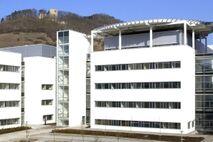 Blick auf das neue Klinikum