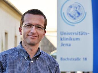 Dr. Norbert Gittler-Hebestreit, Leiter des Gesundheitsmanagements der Thüringer Uniklinik.