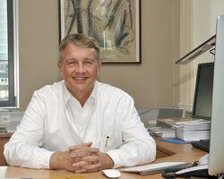 Prof. Dr. Utz Settmacher, Direktor der Klinik für Allgemein-, Viszeral- und Gefäßchirurgie am Universitätsklinikum Jena. Foto: UKJ