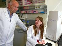 Die Diplom-Biologin Nicole Posorski promoviert am Institut für Humangenetik in einem vom BMBF geförderten Verbundprojekt.